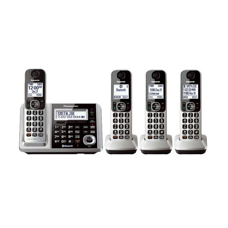 Panasonic Cordless KX-TGF374S Silver Wireless Telepon