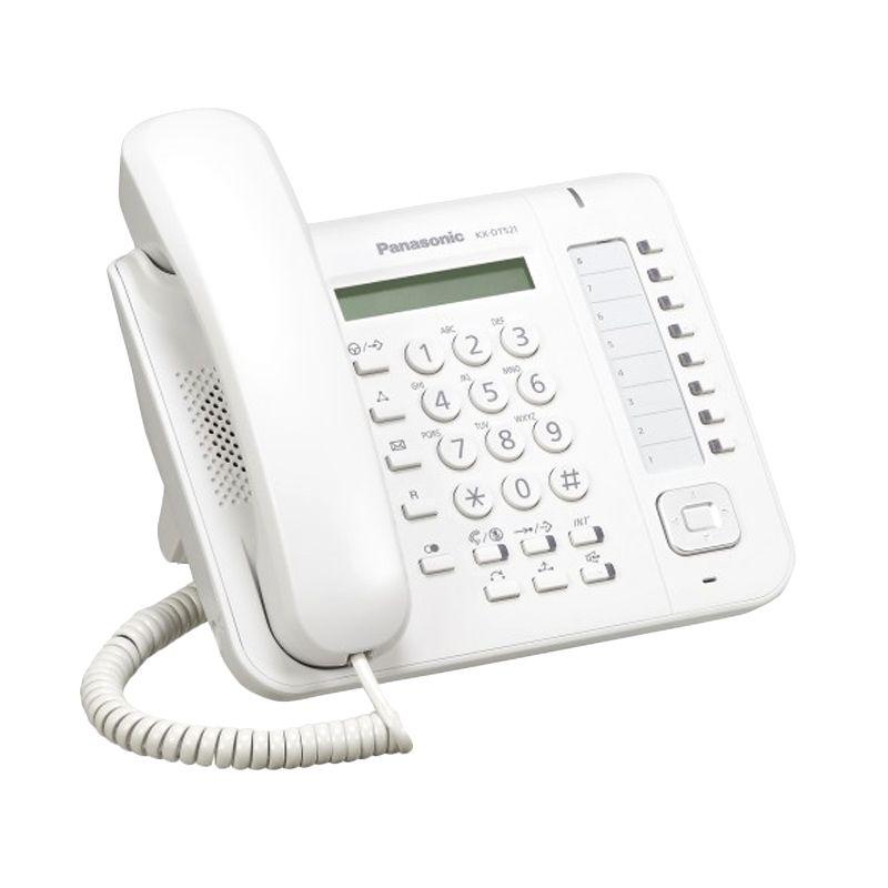 Panasonic Digital Proprietary KX-DT521Telepon Digital - Putih