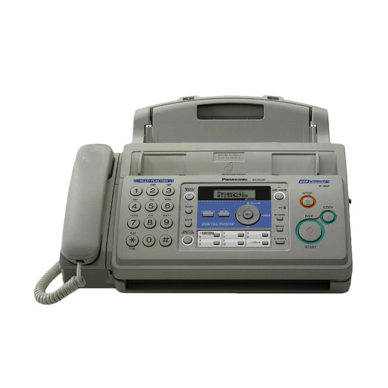 Panasonic Printer KX-FM387 CX Mesin Facsimile  Multifungsi