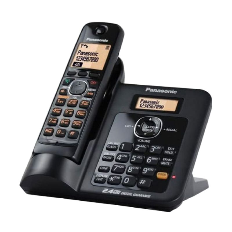 Panasonic Cordless Phone KX-TG3811 With Handset & Base Speakerphone