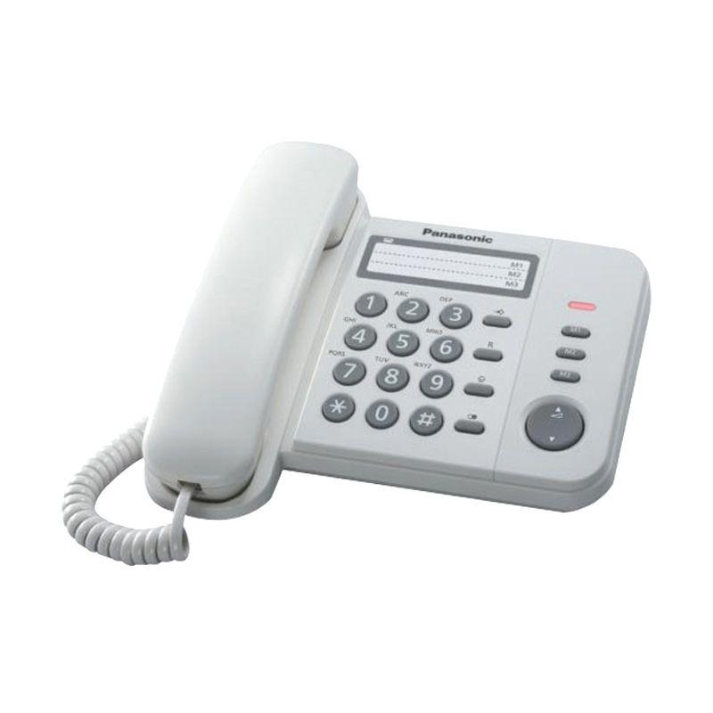 Panasonic KX-TS520 Putih Telepon