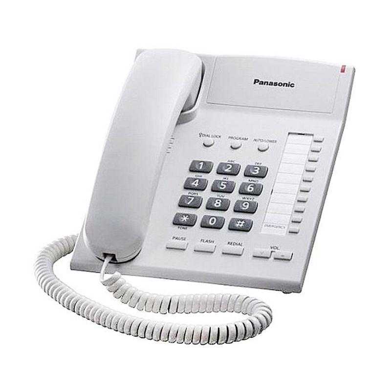 Panasonic Single Line KX-TS820 Telephone - Putih