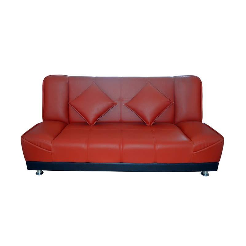 FCENTER Jasmine Merah Sofa Bed