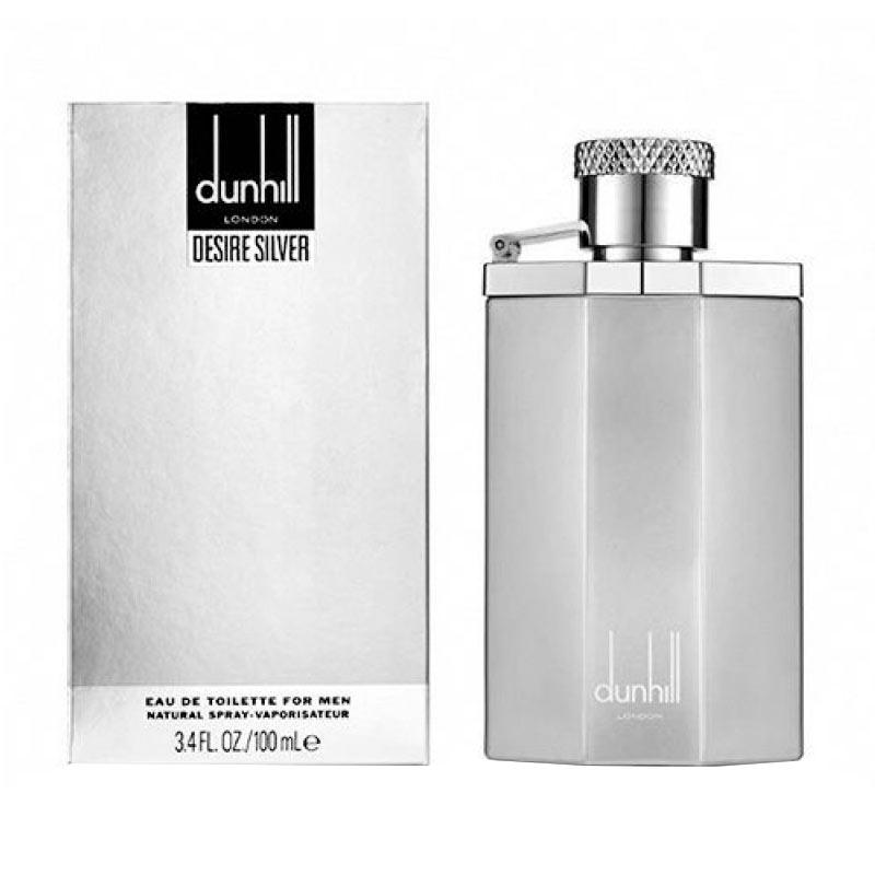 Dunhill Desire Silver for Men Eau de Toilette Parfum EDT Pria [100 mL]