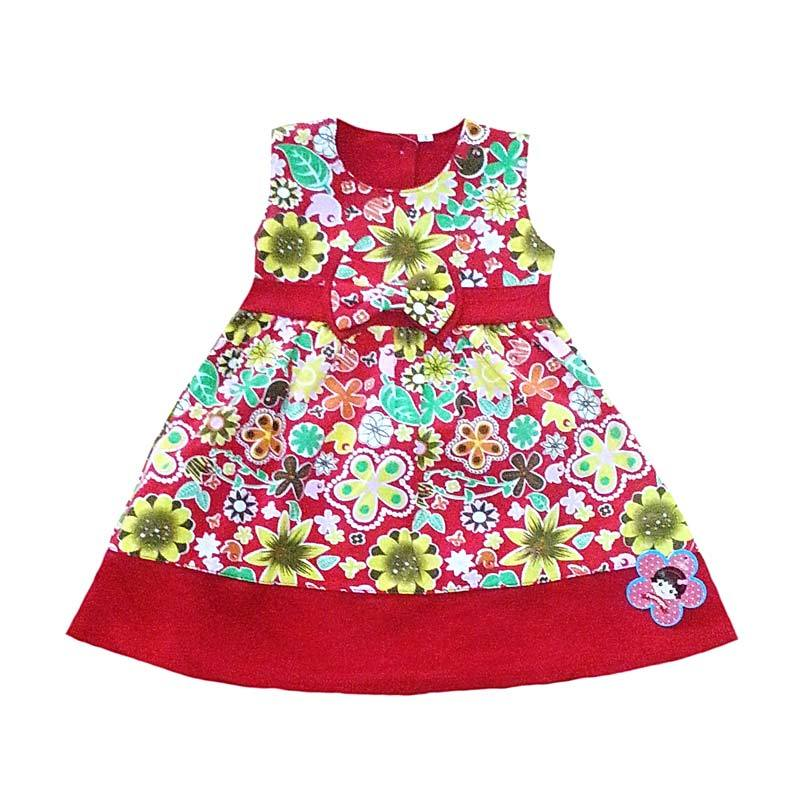 Two Mix Spring in My Dresses Red Dress Anak