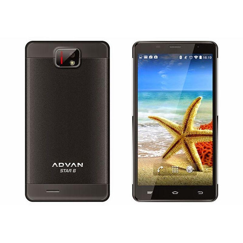Advan Vandroid S6A Black Smartphone [8 GB/Garansi Resmi]