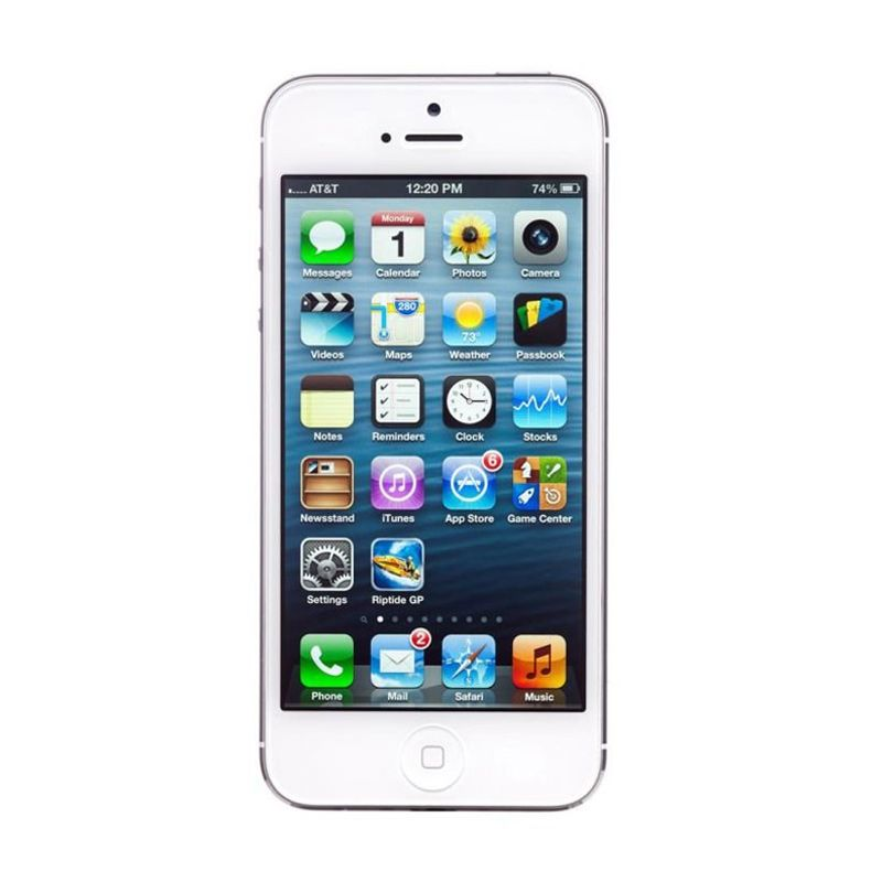 Apple iPhone 5 16 GB Putih Smartphone