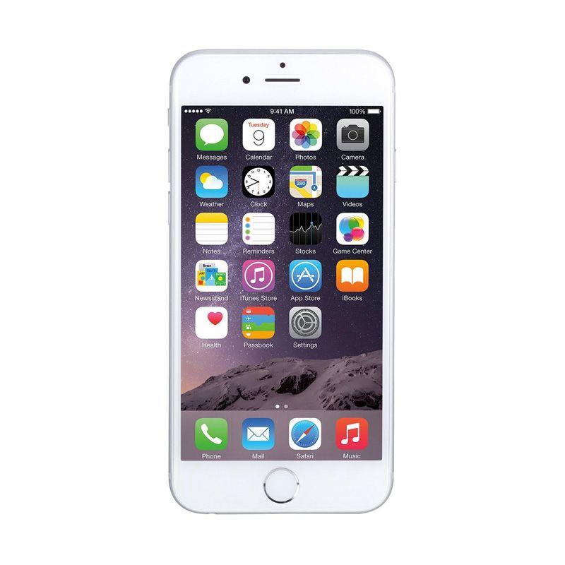 Apple iPhone 6 Plus 16 GB Silver Smartphone [Refurbish]
