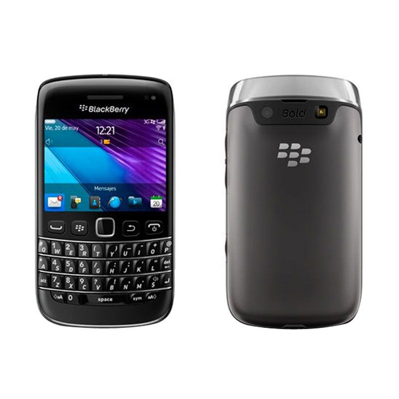 Blackberry Bellagio 9790 Hitam Smartphone