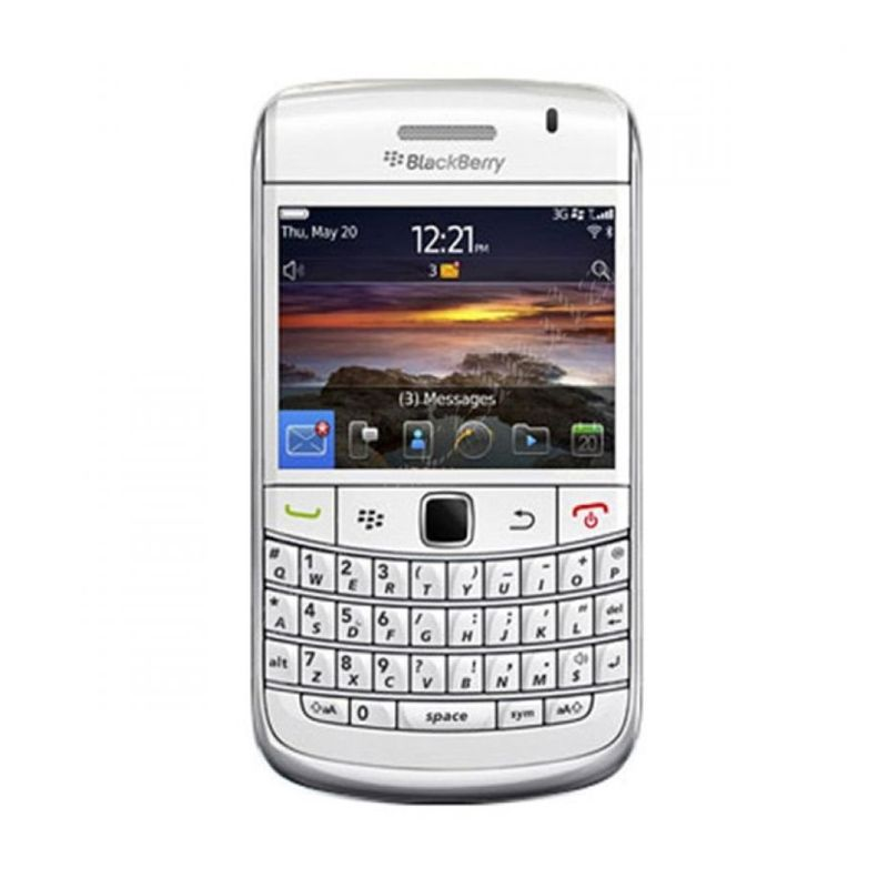 Blackberry Bold 9700 Onyx Putih Smartphone