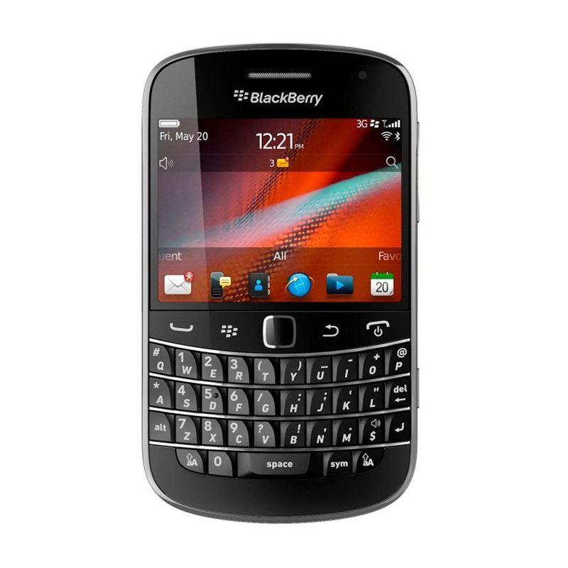 Blackberry Dakota 9900 Hitam Smartphone