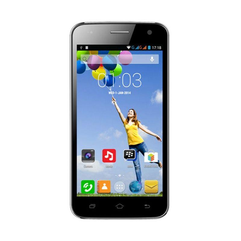 Evercoss A76 Hitam Smartphone