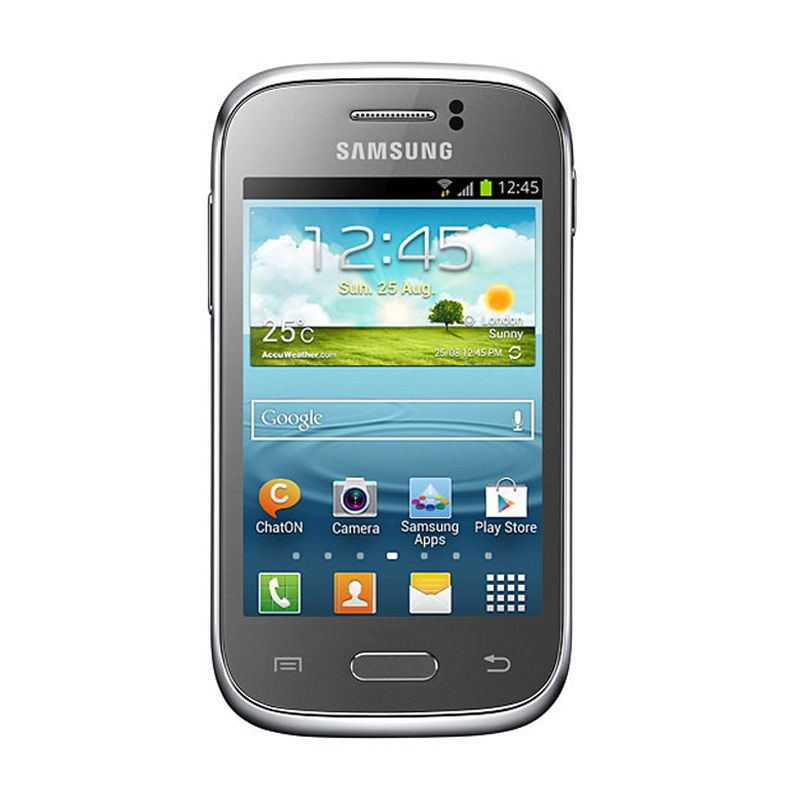 Samsung Galaxy Young New GT-S6310 Silver Smartphone