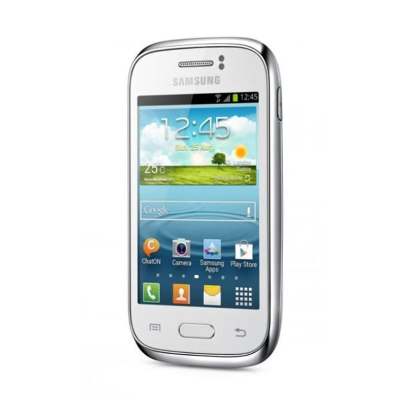 Samsung Galaxy Young New S6310 Putih Smartphone