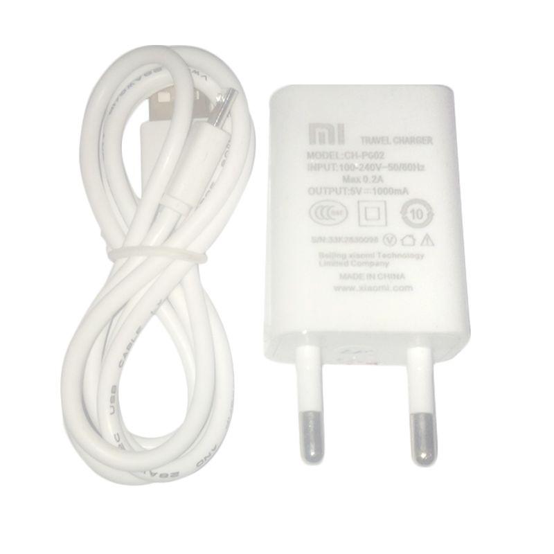 Xiaomi White USB Travel Charger for Xiaomi [Universal]
