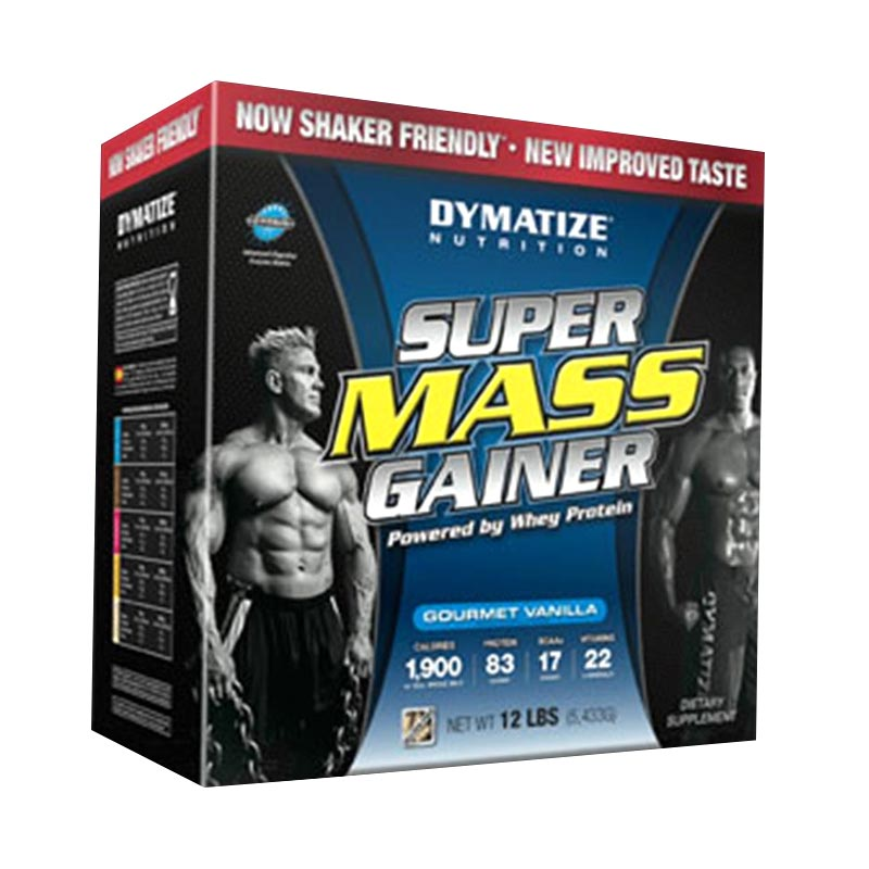 Dymatize Nutrition Super Mass Gainer - Vanilla [12 lbs / 6 kg]