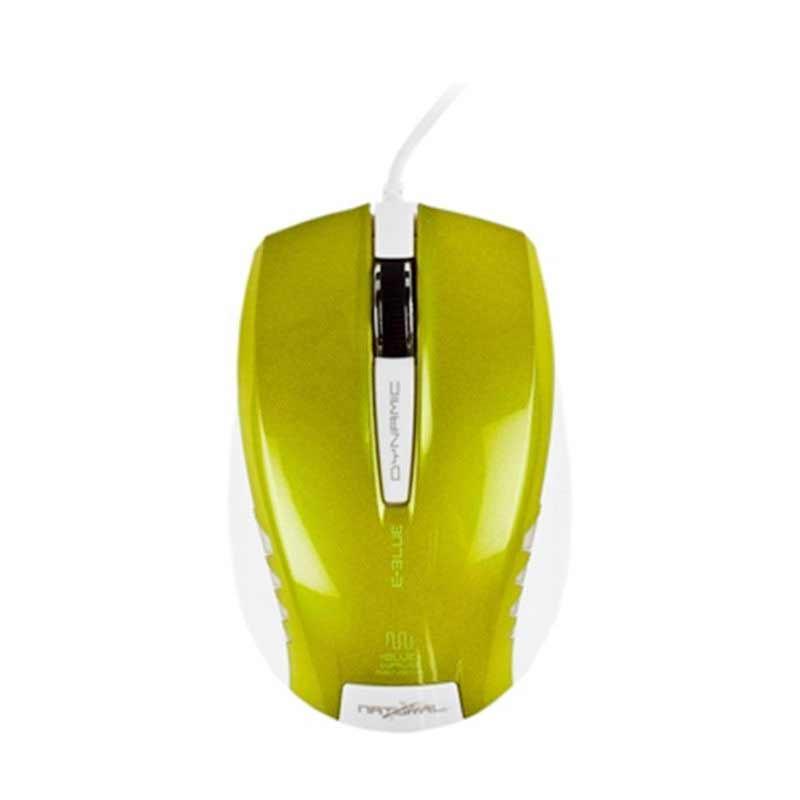 E-Blue Dynamic Optical Mouse - Hijau