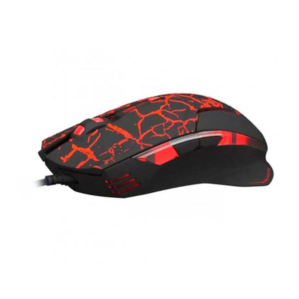 E-Blue M600 Mazer Crackle Gaming Mouse - Black
