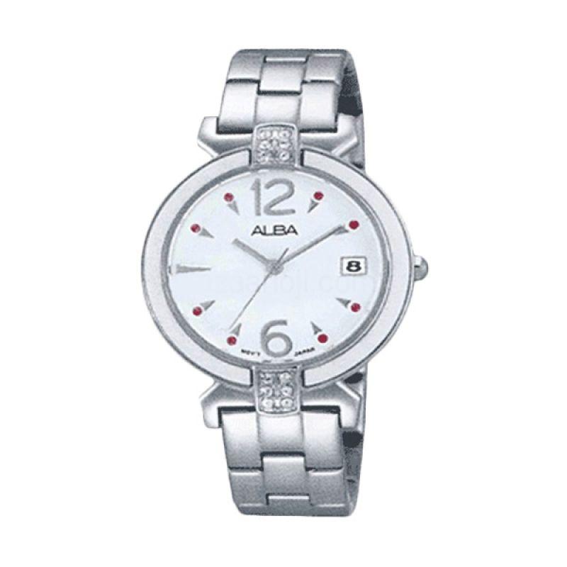 Alba AG8435X1 Silver Jam Tangan Wanita