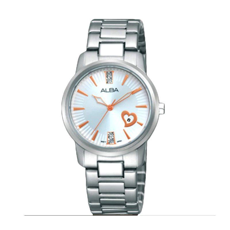 ALBA AH7D47 Silver Jam Tangan Wanita