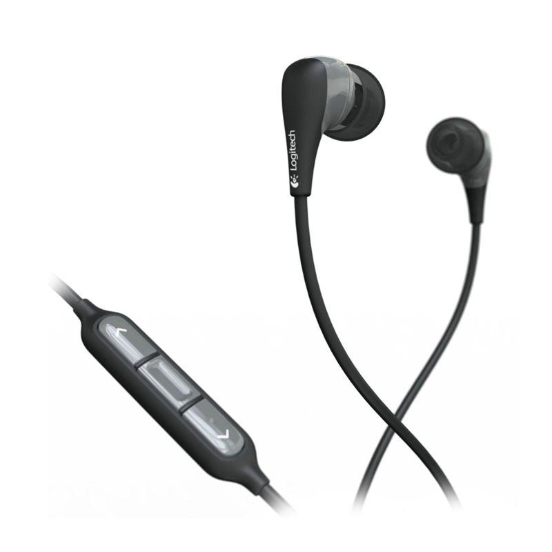 Logitech Noise-Isolating UE 200vi 985-000158 Black Headset