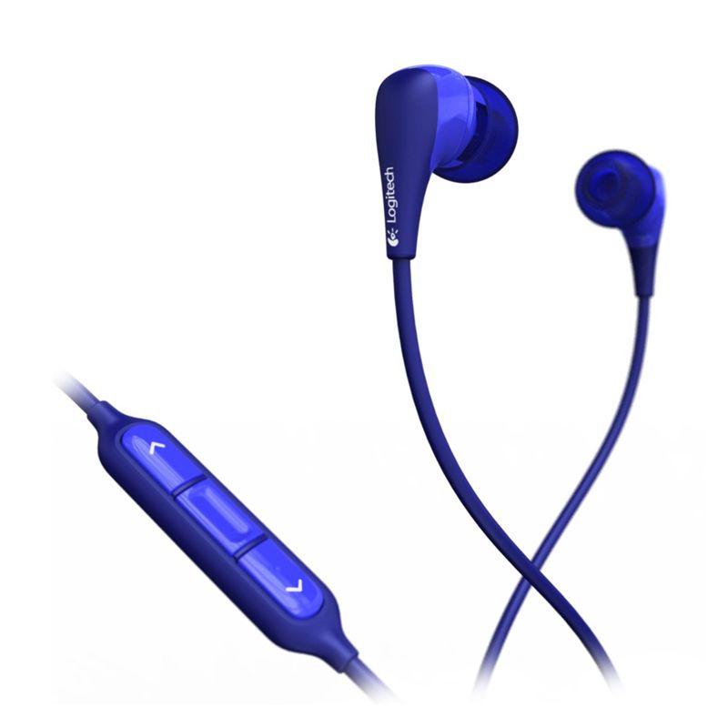 Logitech Noise-Isolating UE 200vm 985-000374 Blue Headset