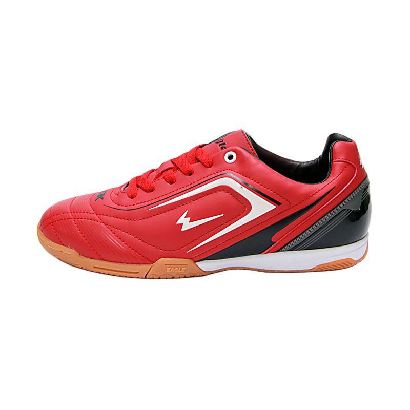 Eagle New Ventura Dk.Red White Black Sepatu Futsal
