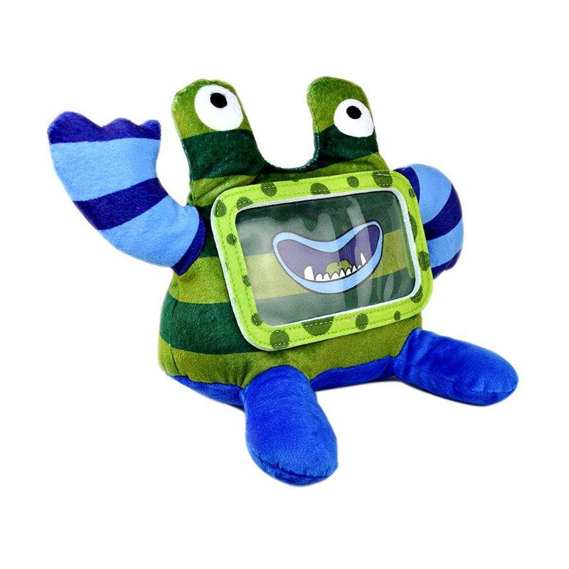 Wise Pet for Smartphone Stripy Biru Mainan Anak