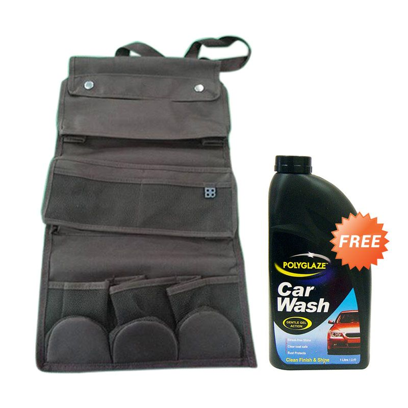 EASI Seat Back Multi Organizer + Polyglaze Gel Car Wash [1 L]