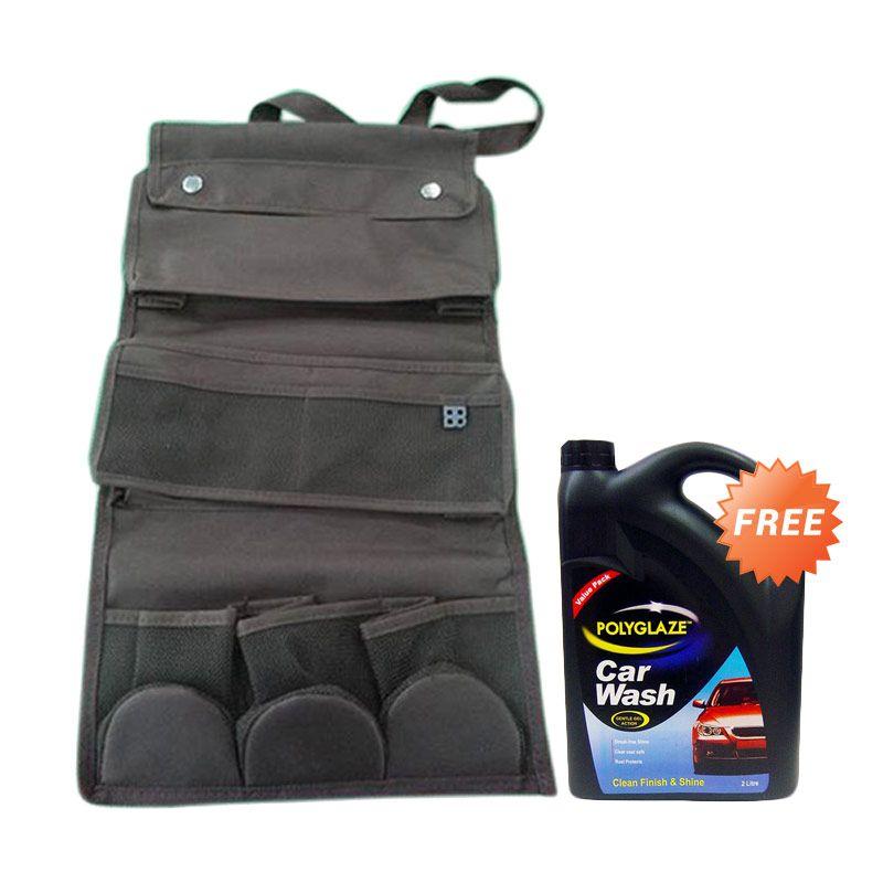 Promo EASI Seat Back Multi Organizer + Free Polyglaze Car Wash Mobil Valuepack 2 L