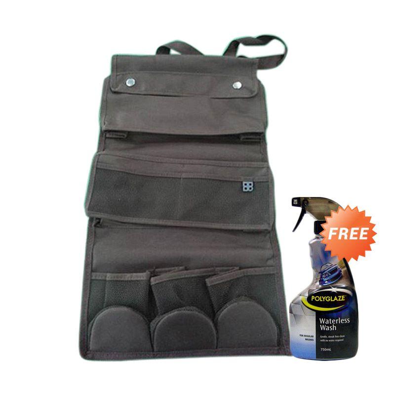 Promo EASI Seat Back Multi Organizer + Free Poluglaze Waterless Wash Mobil 750 mL