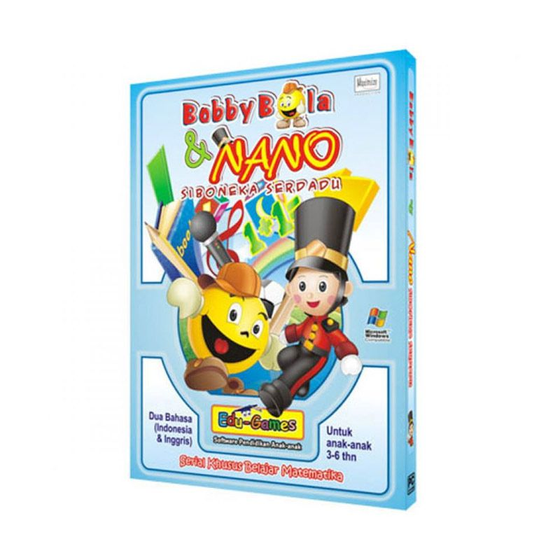 Edu Games Bobby Bola dan Nano Seri 1 Software