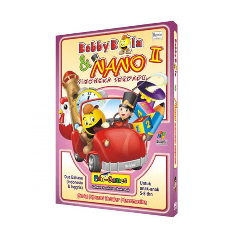 Edu Games Bobby Bola dan Nano Seri 2 Software