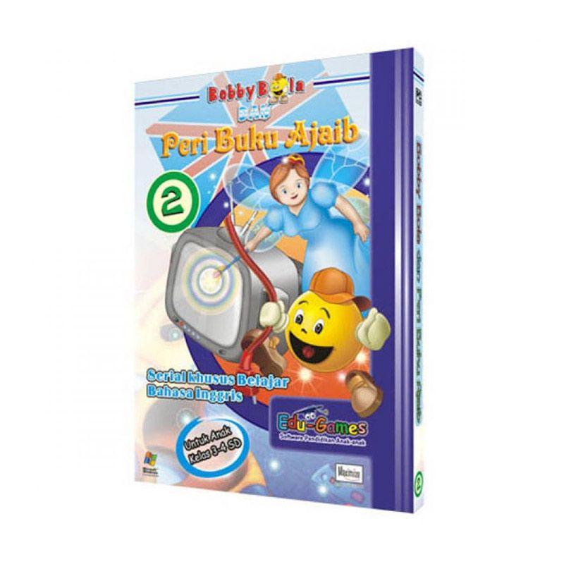 Edu Games Bobby Bola dan Peri Buku Ajaib Belajar Bahasa Inggris Seri 2 Software