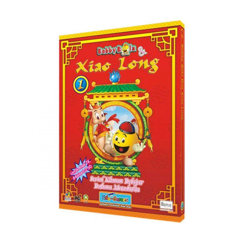 Edu Games Bobby Bola dan Xiao Long Belajar Bahasa Mandarin Seri 1 Software
