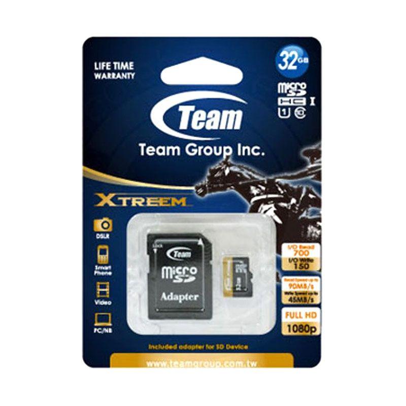 Team SDHC UHS 1 Xtreem 32GB