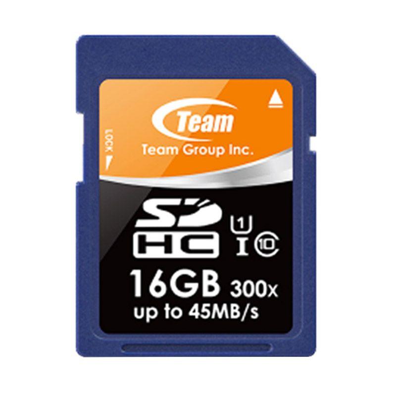 Team SDHC UHS 1 16GB