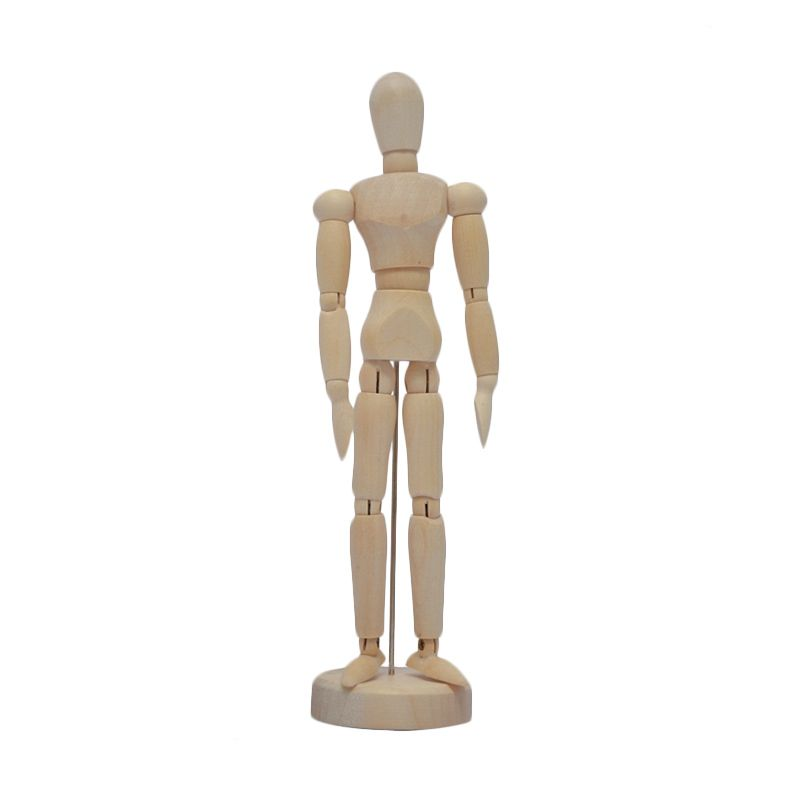 Ecolife Wooden Sculpture Mannequin - Small