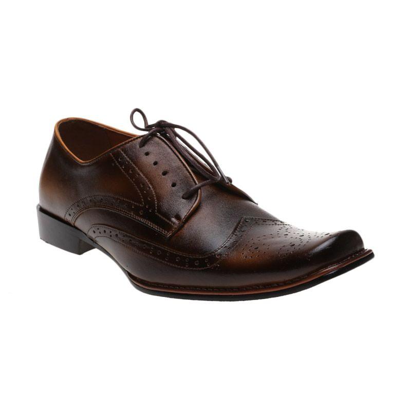 Edberth Leather Shoes Montana KR-03 T Tan Sepatu Pria