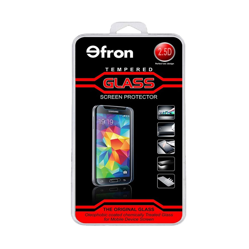 harga Efron Premium Tempered Glass Screen Protector for Infinix Hot Note 2 or X600 [Rounded Edge 2.5D] Blibli.com