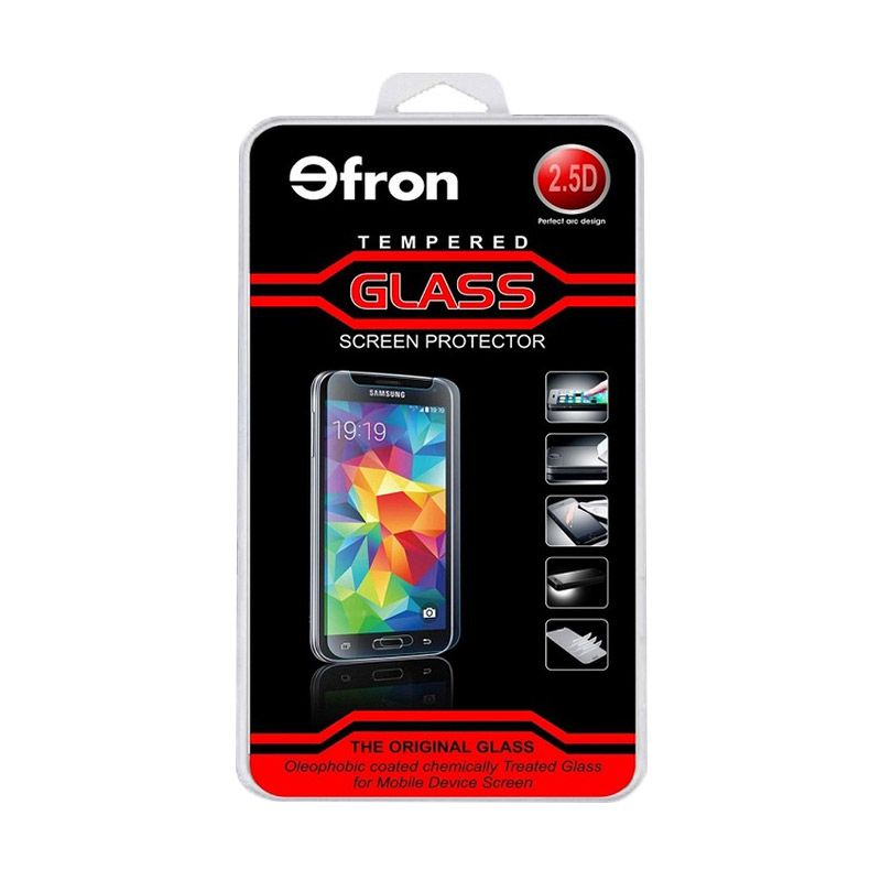 Efron Glass Tempered Glass Screen Protector for One Plus Two / One+2 [2.5D]