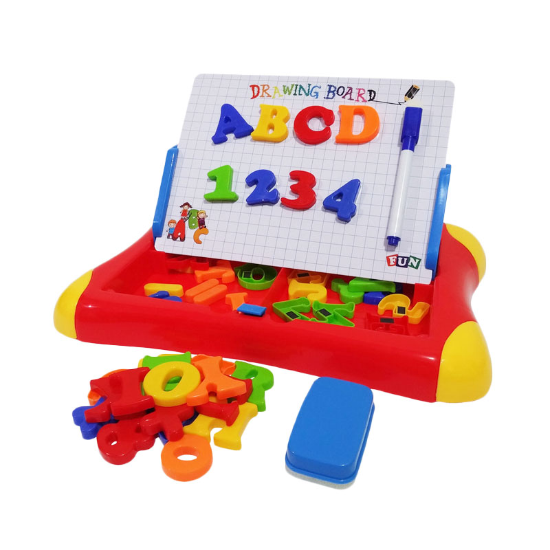 harga Eigia Delice Second Classroom Magnetic Learning Case Drawing Board Mainan Edukasi Anak - Merah Blibli.com