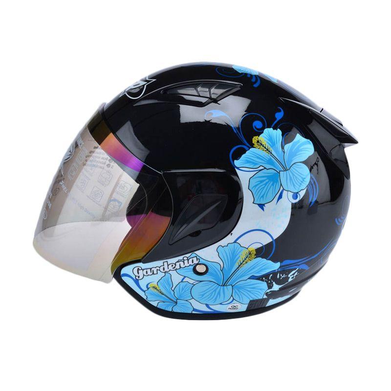 MSR Helmet Javelin Gardenia Hitam Biru Helm Half Face