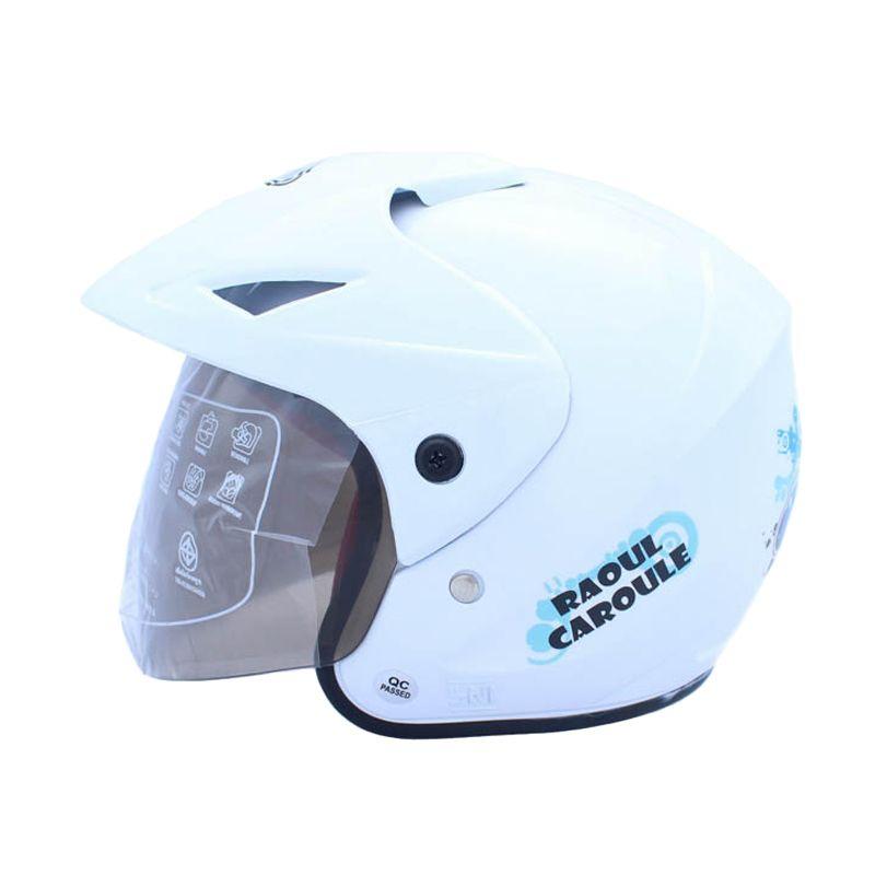 WTO Helmet Junior Neo Caroul Putih Helm Anak
