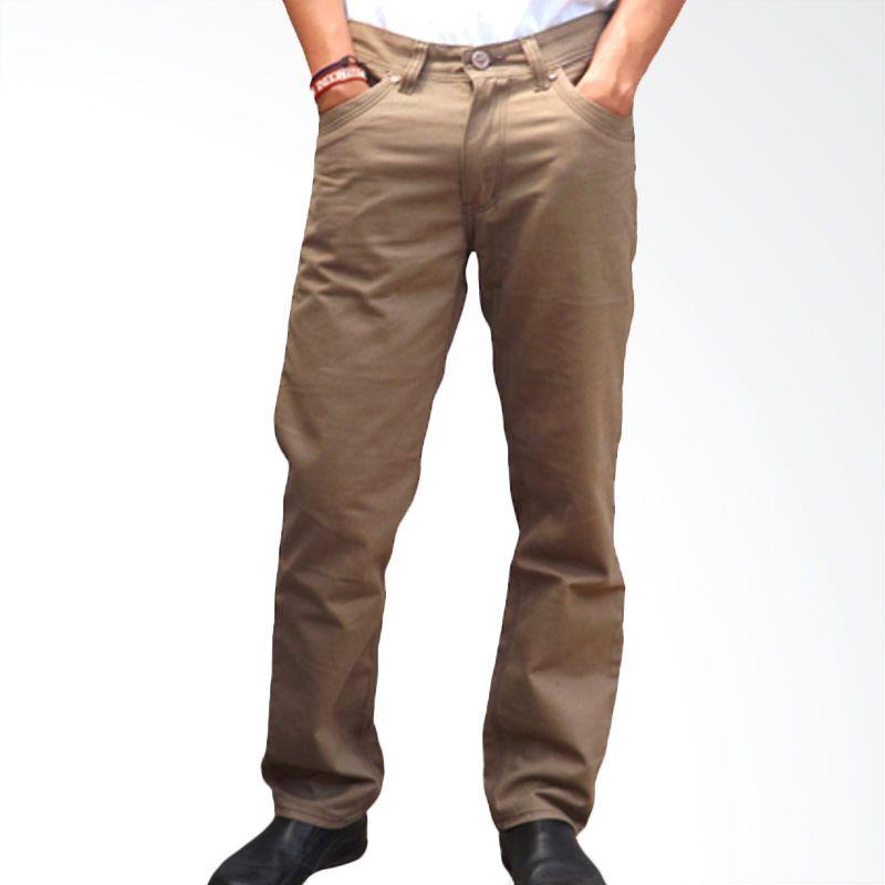 2ndRED 125532F Twill Light Brown Celana Panjang
