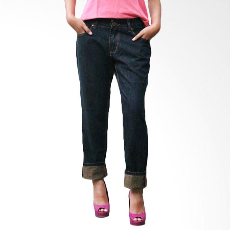 2ndRED Basic Ladies 232281 Dark Brown Celana Panjang Jeans Wanita