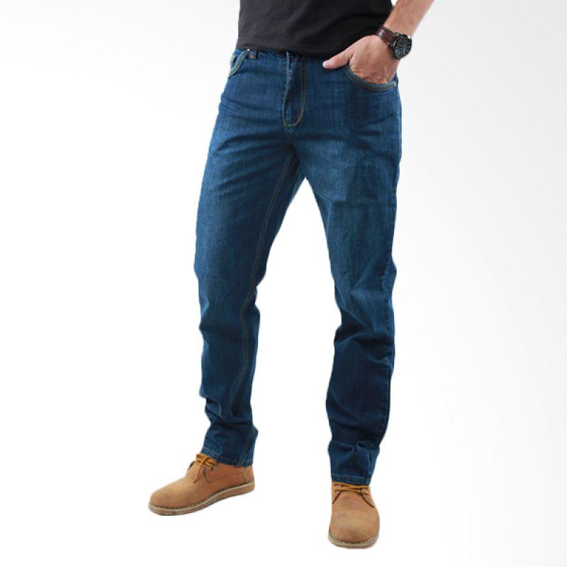 2ndRED FS Spray 121257 Dark Blue Celana Jeans Pria