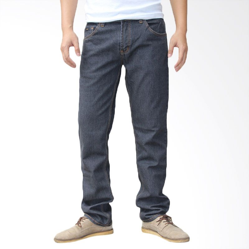 2ndRED Slim Fit Straight 136311 Grey Stone CTP Celana Jeans Pria