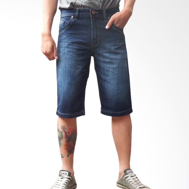 2ndRED 151201 Wisker Spray Blue Celana Jeans Pria