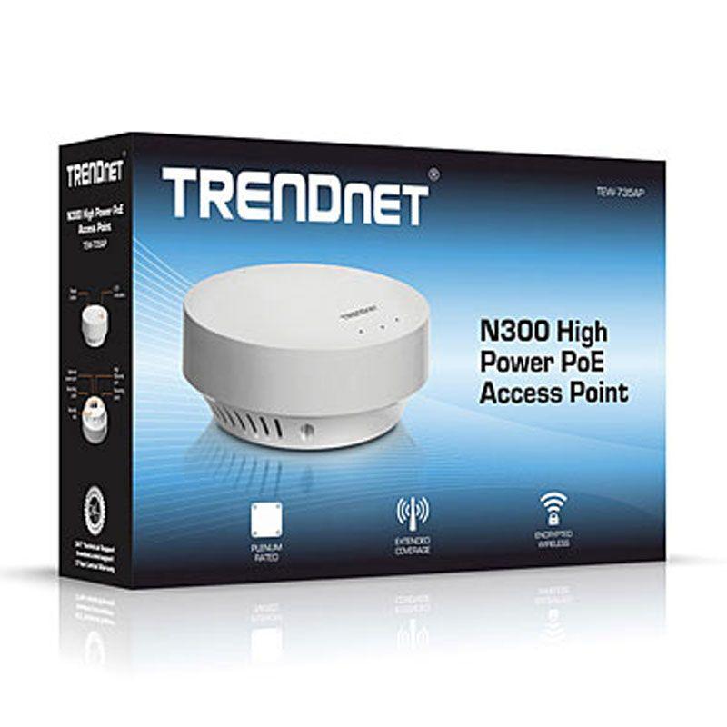 Trendnet TEW-735AP N300 White Power PoE Access Point